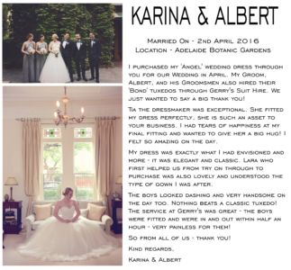 KARINA & ALBERT WRITE UP